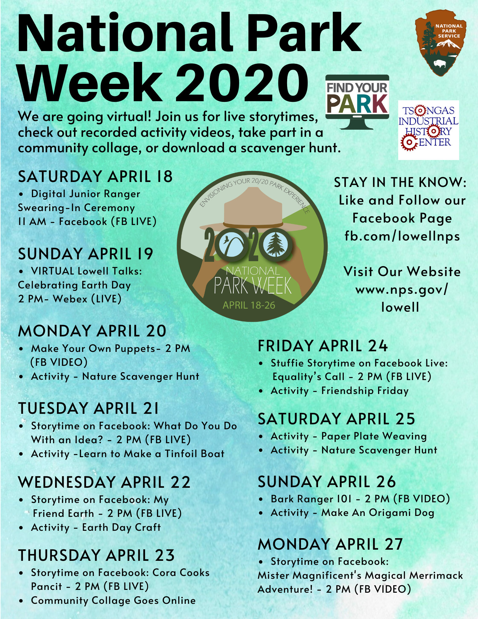 National Park Week 2020